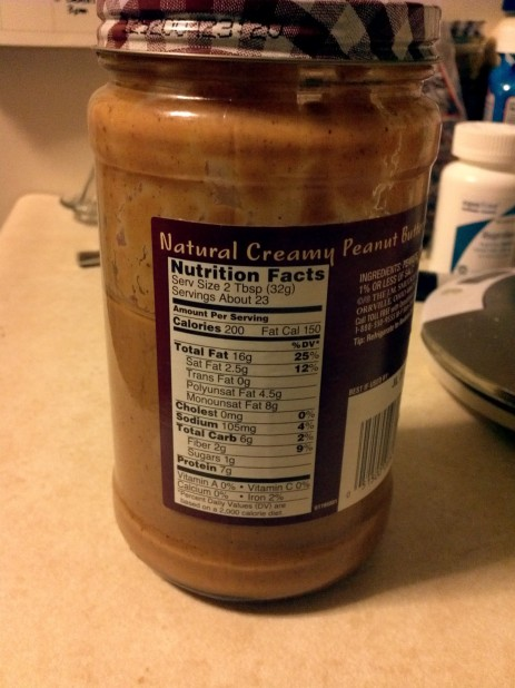 Smuckers Natural Peanut Butter Creamy
