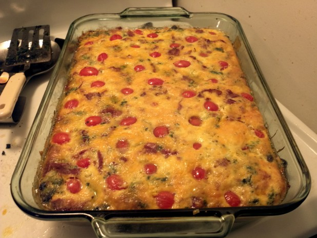Finished Quiche!