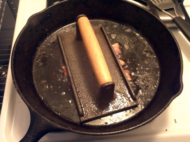 Bacon Press on Bacon Weave