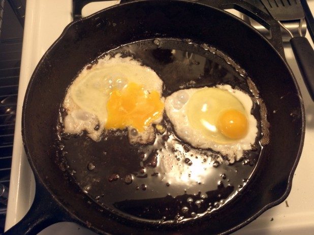 Fry up some eggs