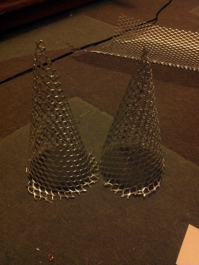 Two Completed Cones