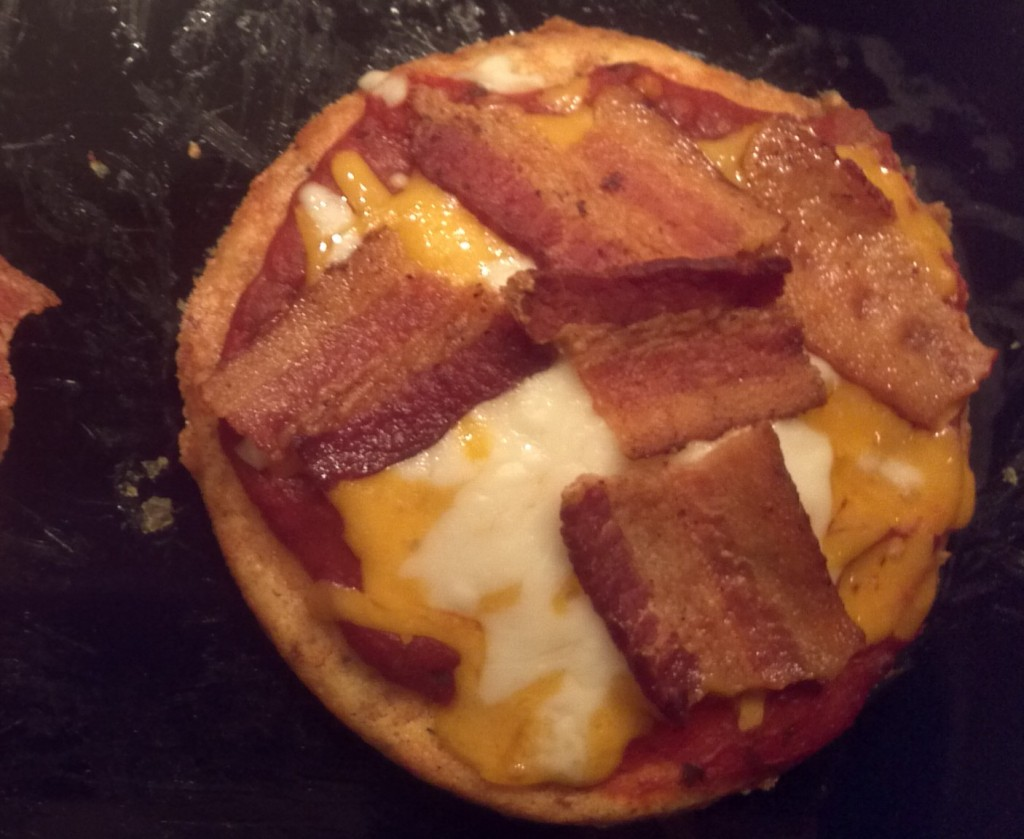 Almond Bun Personal Pizza
