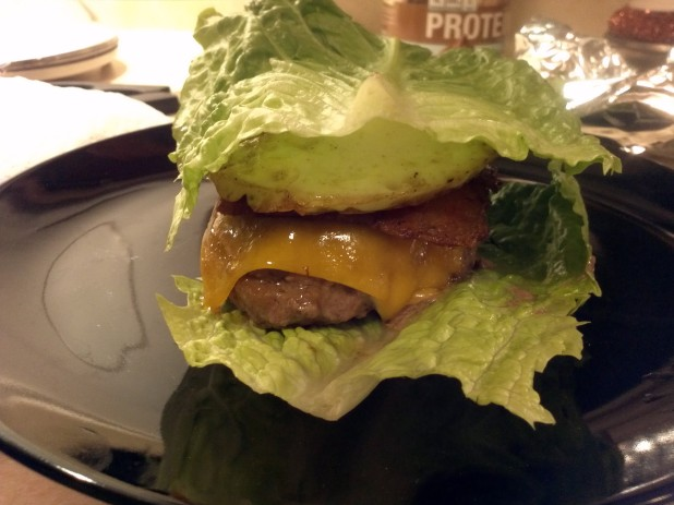 Kitchen Sink Keto Burger