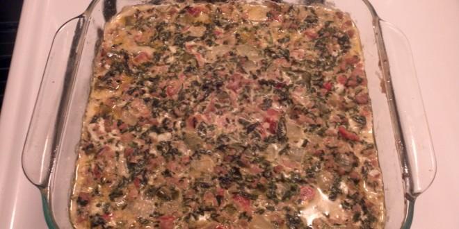 Mexican Spinach Casserole