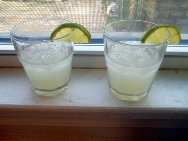 Finished Keto Margaritas