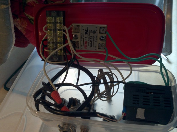 Wiring of the Sous Vide