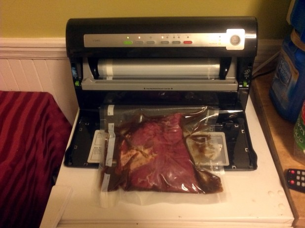 Vacuum Sealed Flank Steak