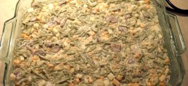 Prepped Cheesy Green Bean Casserole