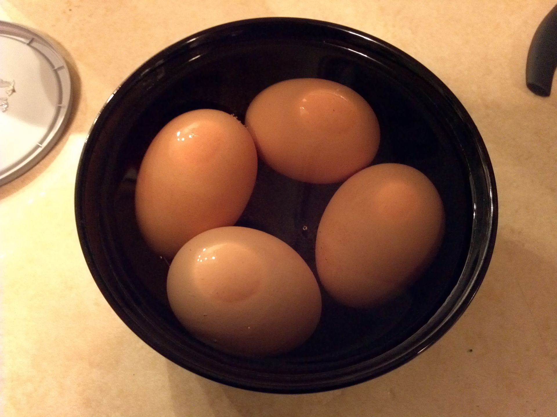 how to bring eggs to room temperature