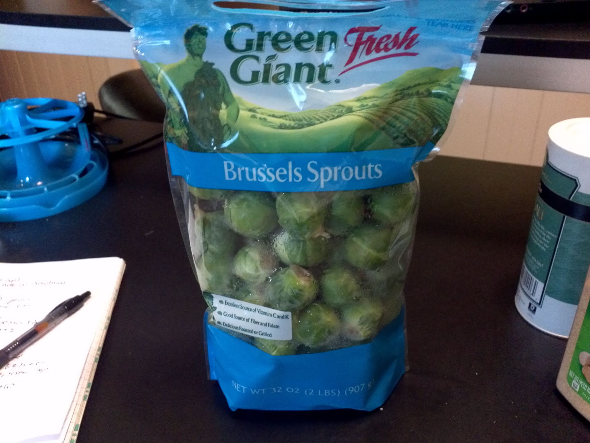 Start with a decent set of brussels sprouts i get these large bags