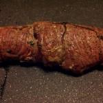 Finished Seared and Stuffed Flank Steak