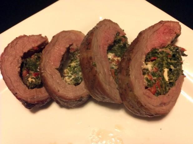 Seared and Stuffed Flank Steak