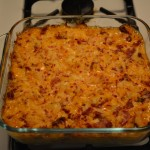 Finished Reuben Casserole