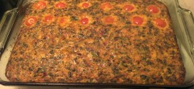 Finished Chorizo Breakfast Casserole