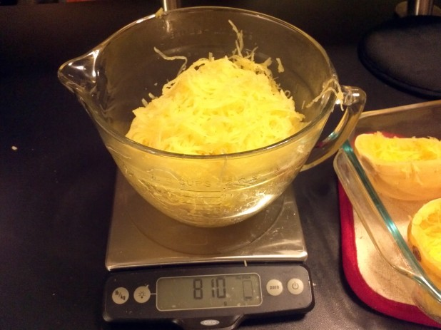 Shredded Spaghetti Squash