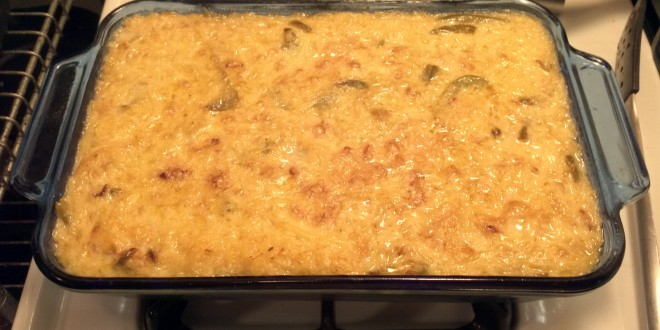 Finished Spaghetti Squash Mac & Cheese