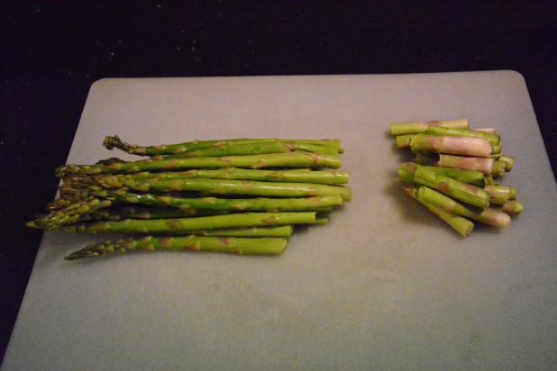 split asparagus