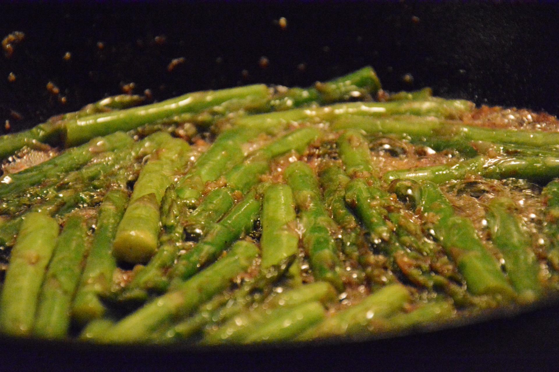Finished Garlic Asparagus