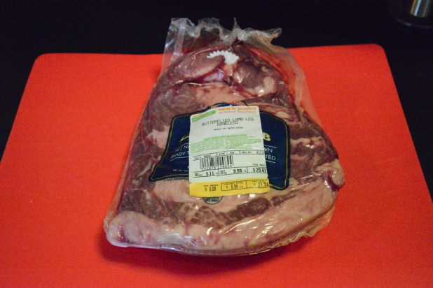 Leg of Lamb in package