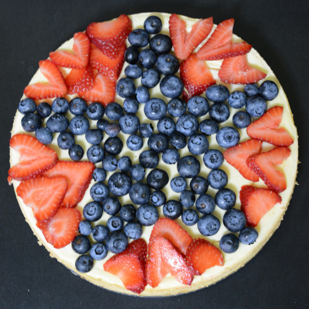 July 4th Cheesecake