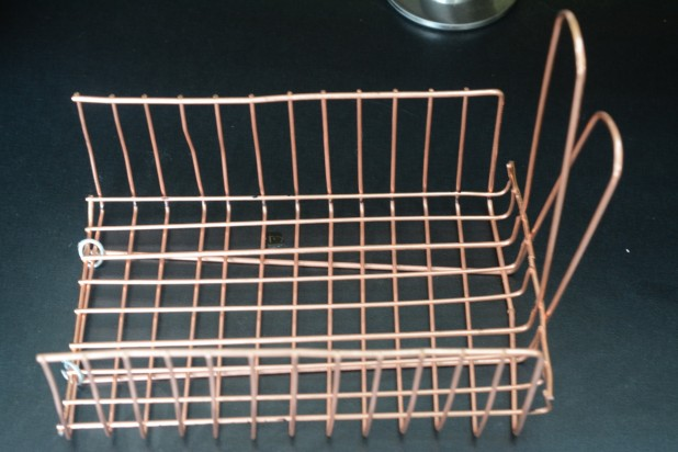 Completed Grill Basket