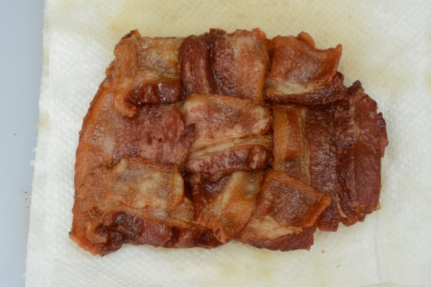 Finished Bacon Weave