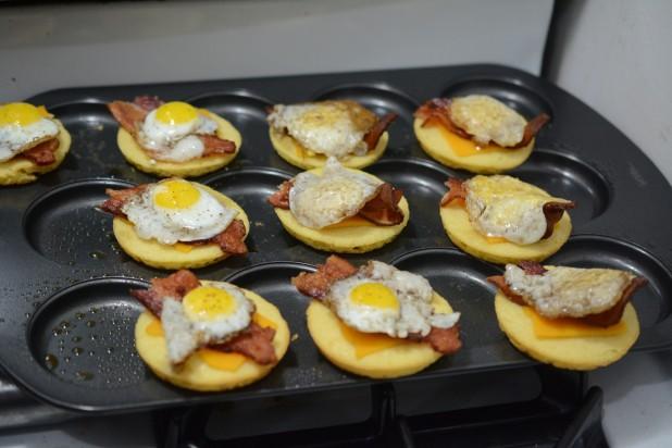 Quail Egg Sandwiches