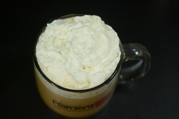 Whipped Cream on Coffee