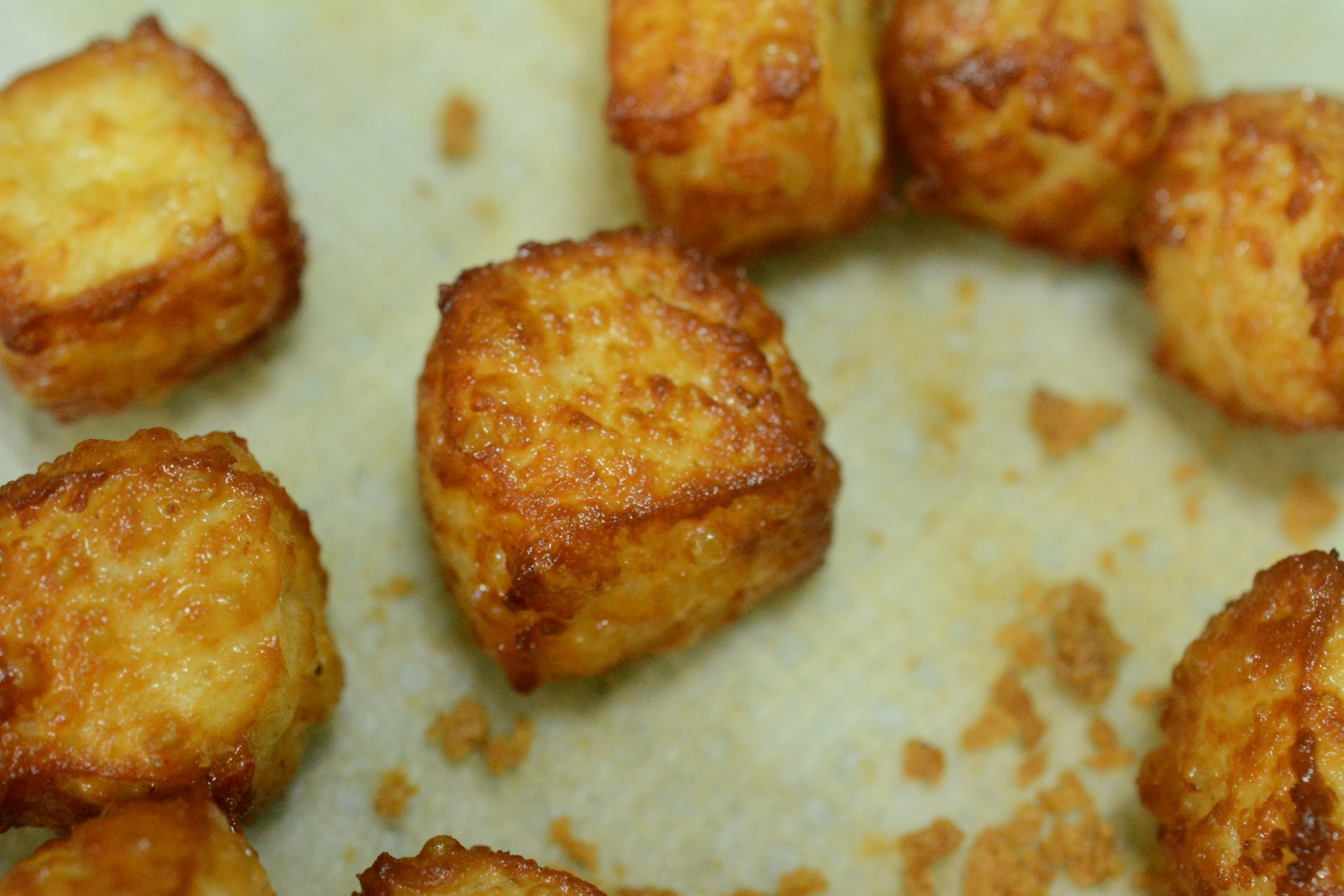 Fried Cheese Cube