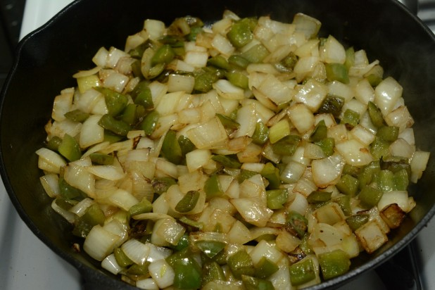 Frying Peppers and Onions