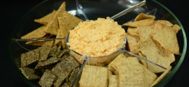 Lizzie's Cheese Dip and Crackers