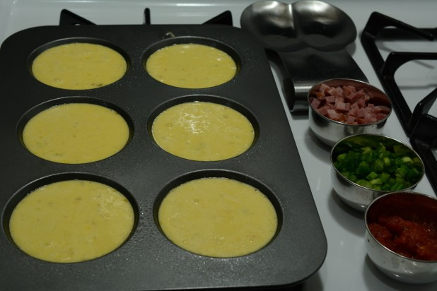 Eggs in Muffin Top Pan