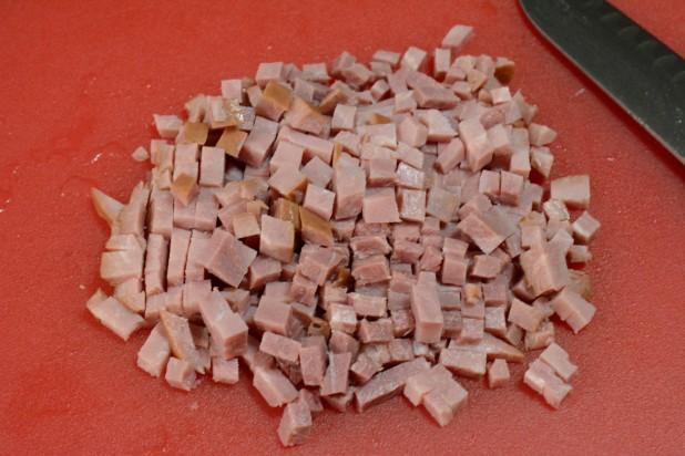 Diced Ham Steak