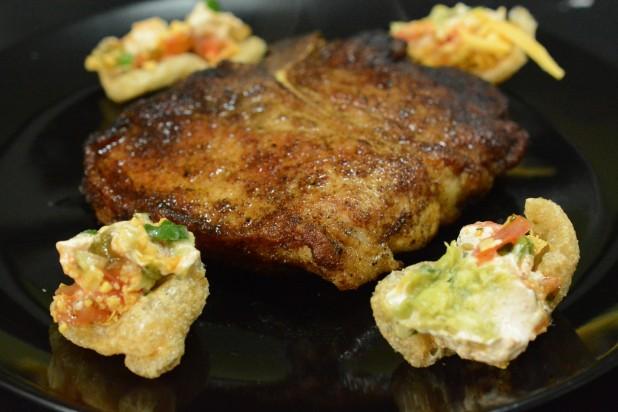 Pan Fried Pork Chop