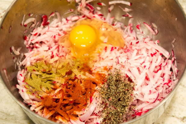 Radish Hashbrown Ingredients