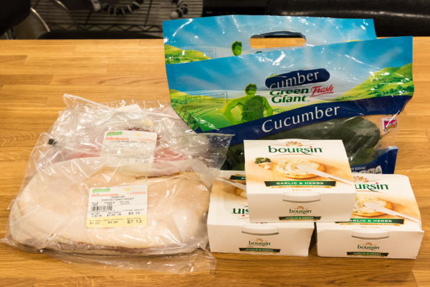 Cucumber Sandwich Ingredients