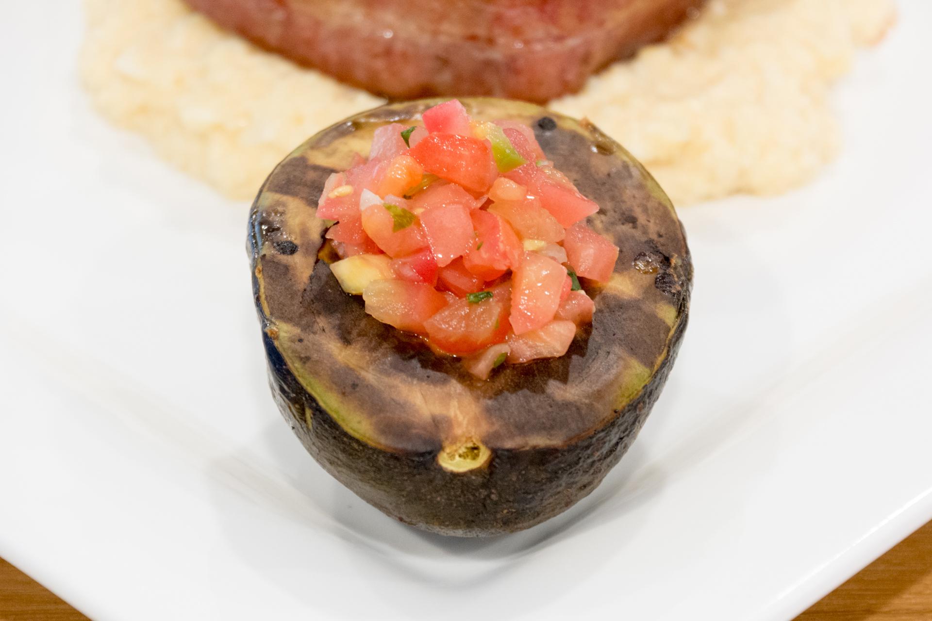 Grilled Avocado - Caveman Keto