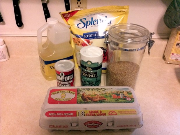 Flax Bun Ingredients