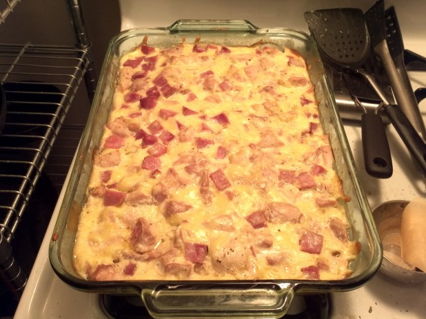 Finished Casserole
