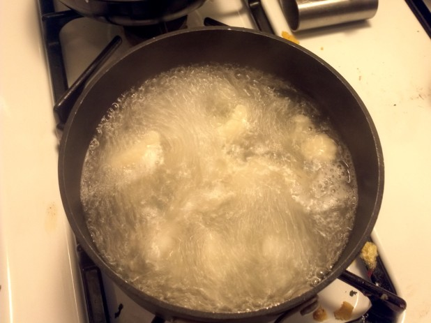 Boiling Cauliflower