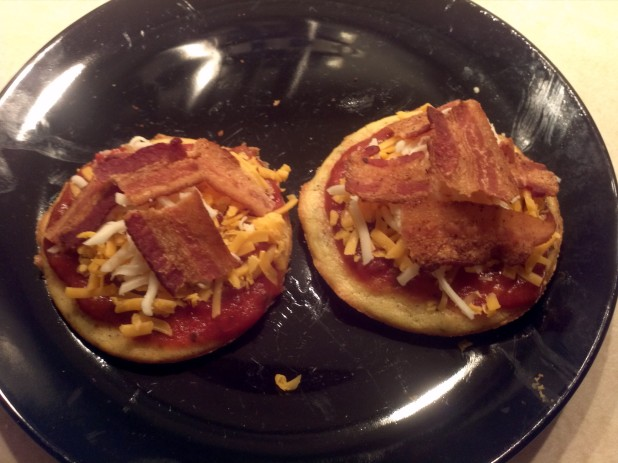 Bacon Pizzas