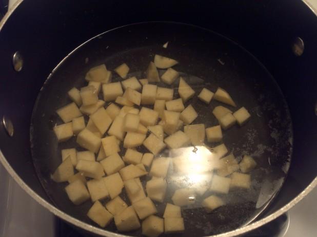 Boiling Rutabagas