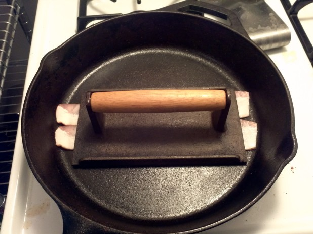 Bacon in Skillet