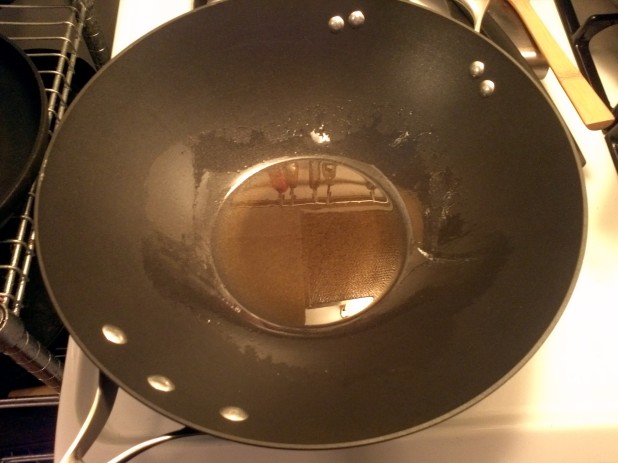 Wok with Oil