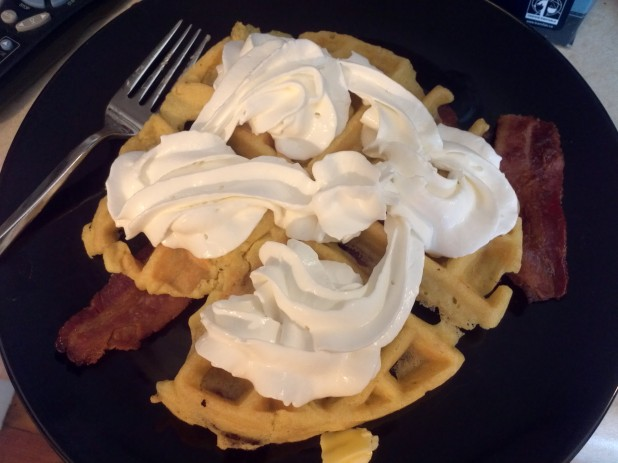 Topped Waffle