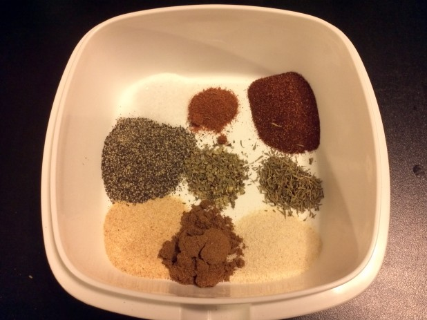 Blackened Spices
