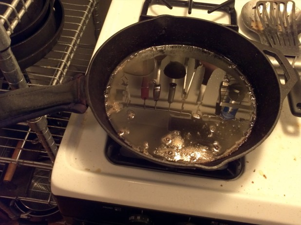 Bacon Grease in Skillet