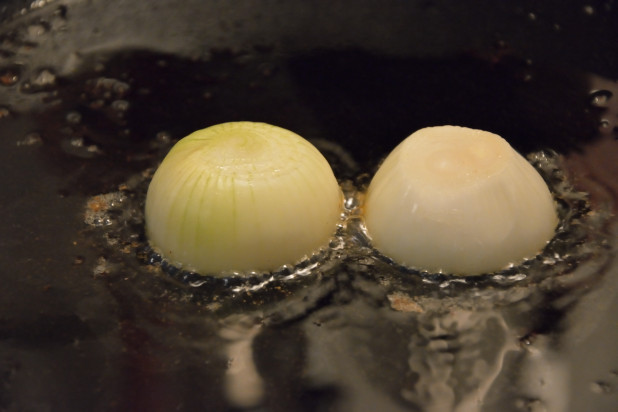 Frying Onion