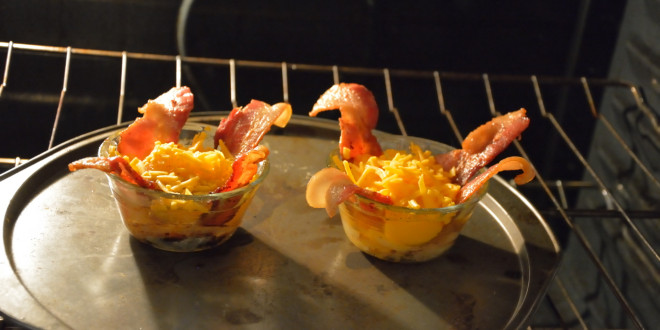 Eggs Baking