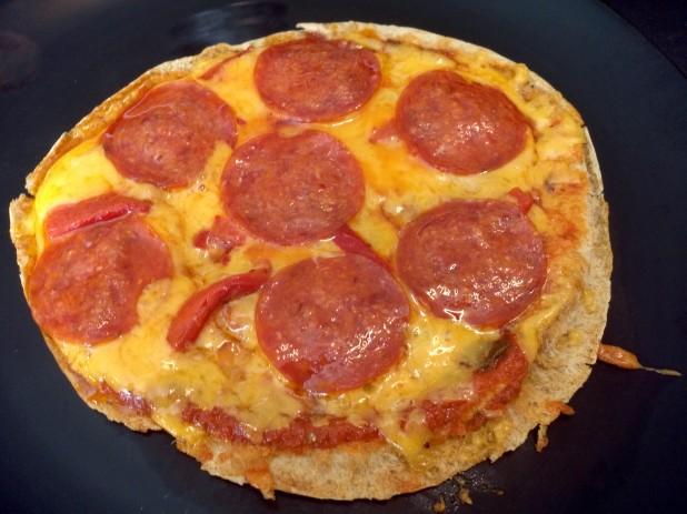 Finished Pita Pizza